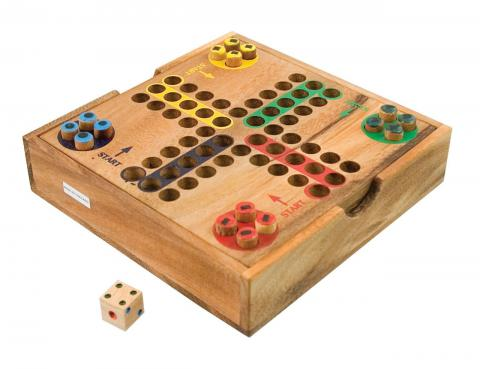 Ludo Wooden Board Game