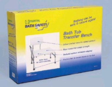 Essential Bath Safety Blow Molded Bathtub Transfer Bench (Models B3004)