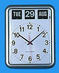 Wall Clock With Day & Date