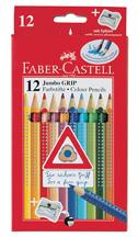 Faber-Castell Jumbo Colour Grip Pencils