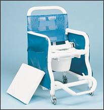 Super Deluxe Shower/ Commode Chair (Model 340)