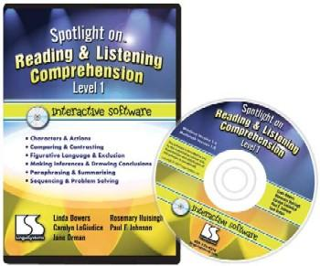 Spotlight On Reading & Listening Comprehension Level 1 Interactive Software (Model N61-9-Ws)