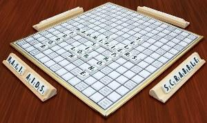 Deluxe Low Vision Scrabble