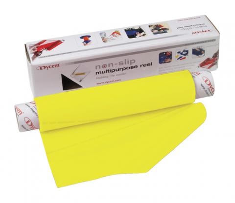 Dycem Non-Slip Material Roll, 16 Inches x 6-1/2 Feet, Yellow