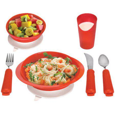 Power of Red Complete Dinner Set