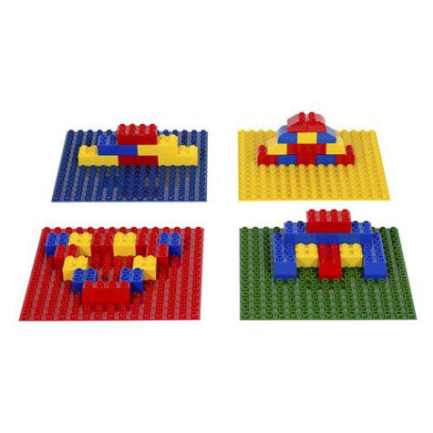 Pre-School Block Grid Base Plate Set