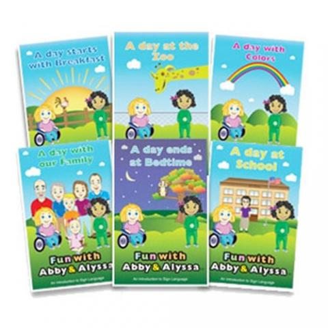 Fun with Abby & Alyssa Six Book Bundle