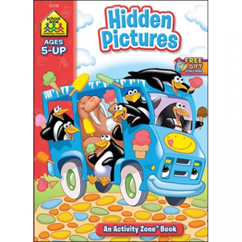 HIDDEN PICTURES - AGES 5 AND UP