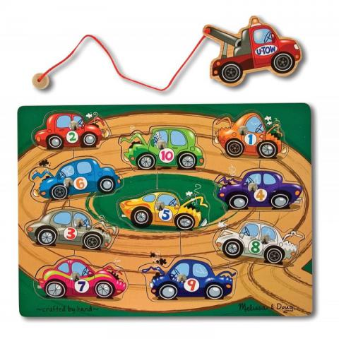 Magnetic Tow Truck Game