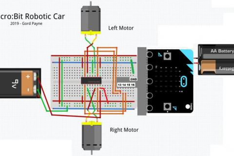 Fun Micro:bit Robot - EASY and Inexpensive!